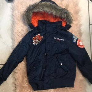 H&M Boys bomber coat, size 7-8